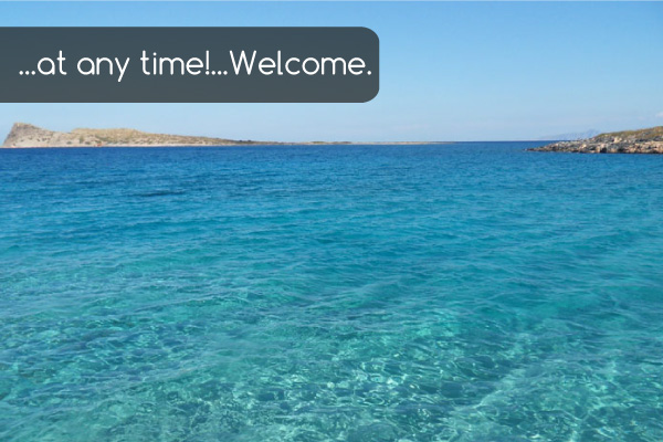 Anytime welcome waters | Holiday apartments Elounda Island Villas
