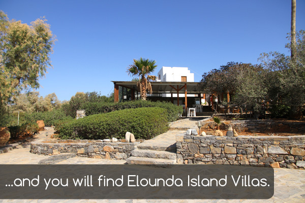 Entrance | Holiday apartments Elounda Island Villas
