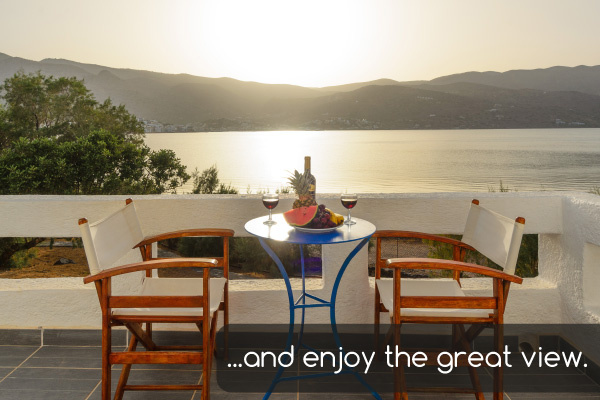Great view | Holiday apartments Elounda Island Villas