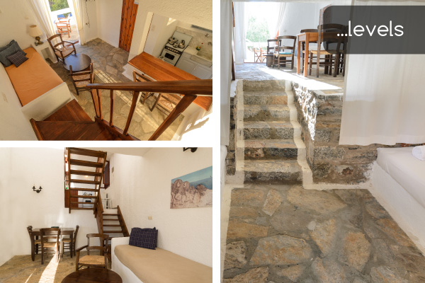 Levels | Holiday apartments Elounda Island Villas