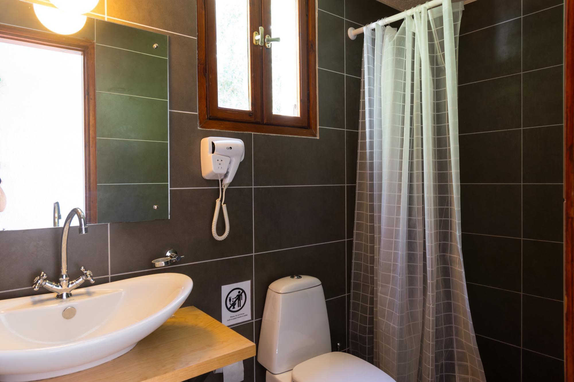 V2 bathroom down