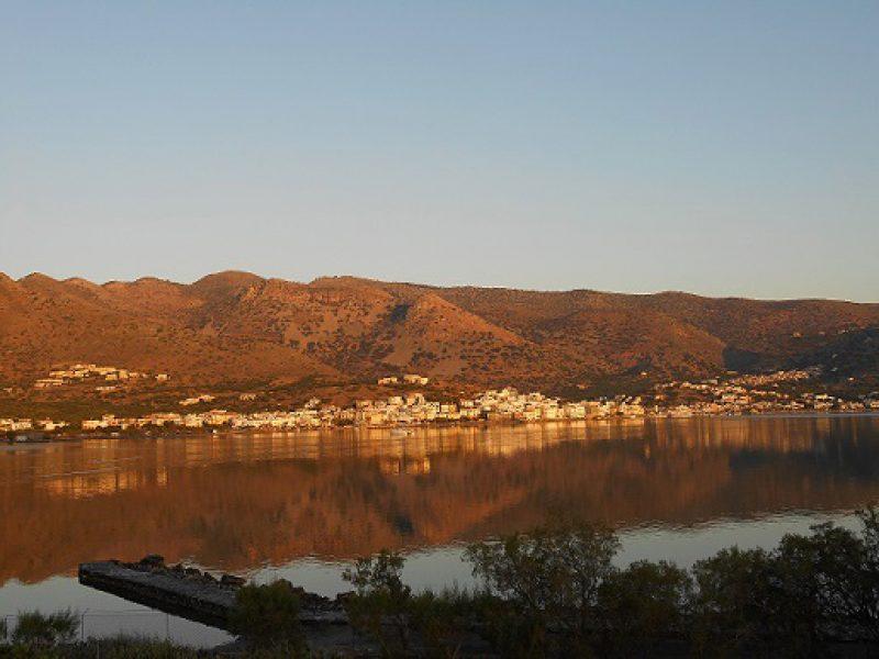 View from our Elounda Island Villas terrace (Villa 10).